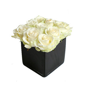 White Roses Cube - Funeral