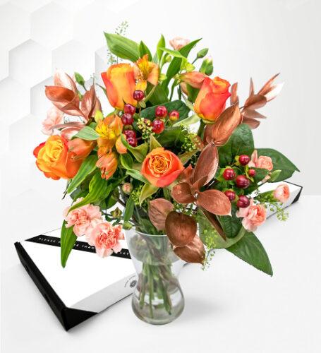Bronze Allure - Letterbox Flowers - Luxury Letterbox Flowers - Letterbox Flowers UK - Send Letterbox Flowers
